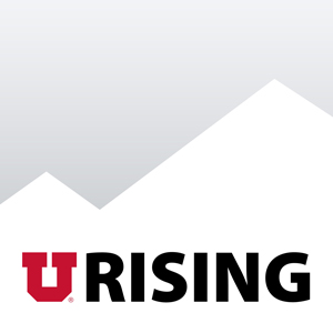 The U Rising logo