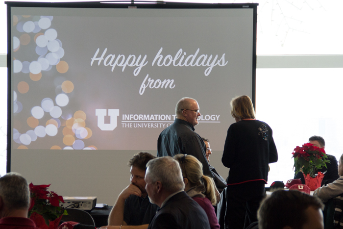 Paul Burrows attends the 2016 UIT Holiday Luncheon.